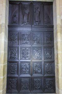 15th century door