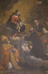 Chapel of St Gajetan painting