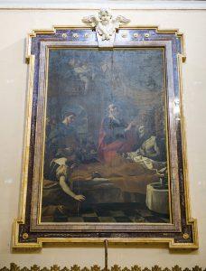 Choir Mattia Preti Healing of Publius Father