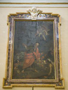 Choir Mattia Preti The Miracle of the Viper