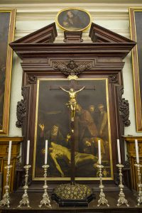Deposition from the cross Sacristy