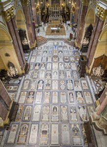 Mdina Cathedral Tombstones