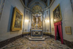 Holy crucifix chapel Mdina cathedral