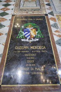 Guzeppi Mercieca tombstone