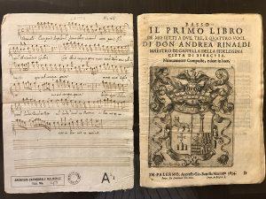 Ecce Panis Angelorum and Primo Libro de motetti