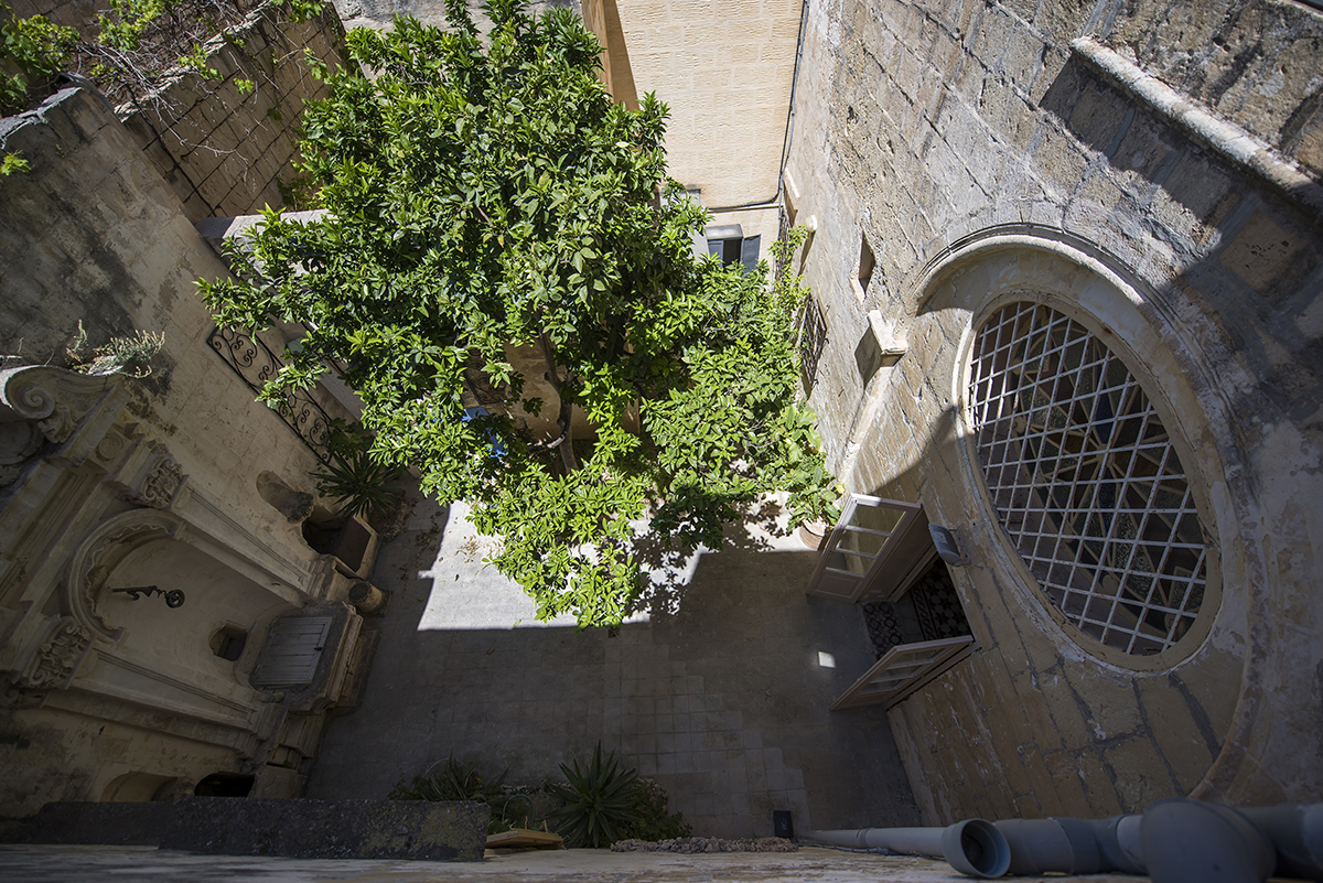 Mdina Archives internal courtyard