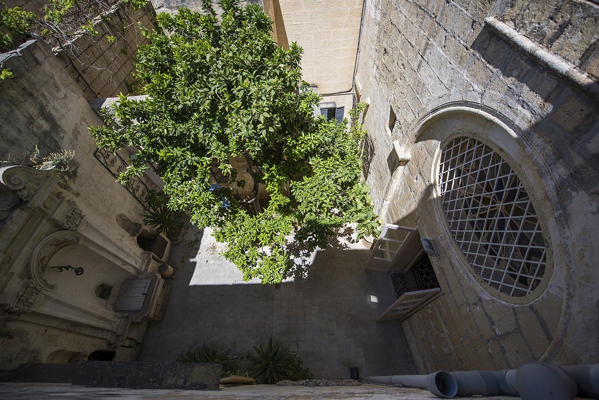 Mdina Archives internal courtyard