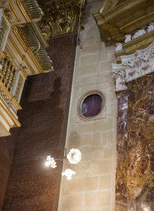 The Bishop's Window and spy hole